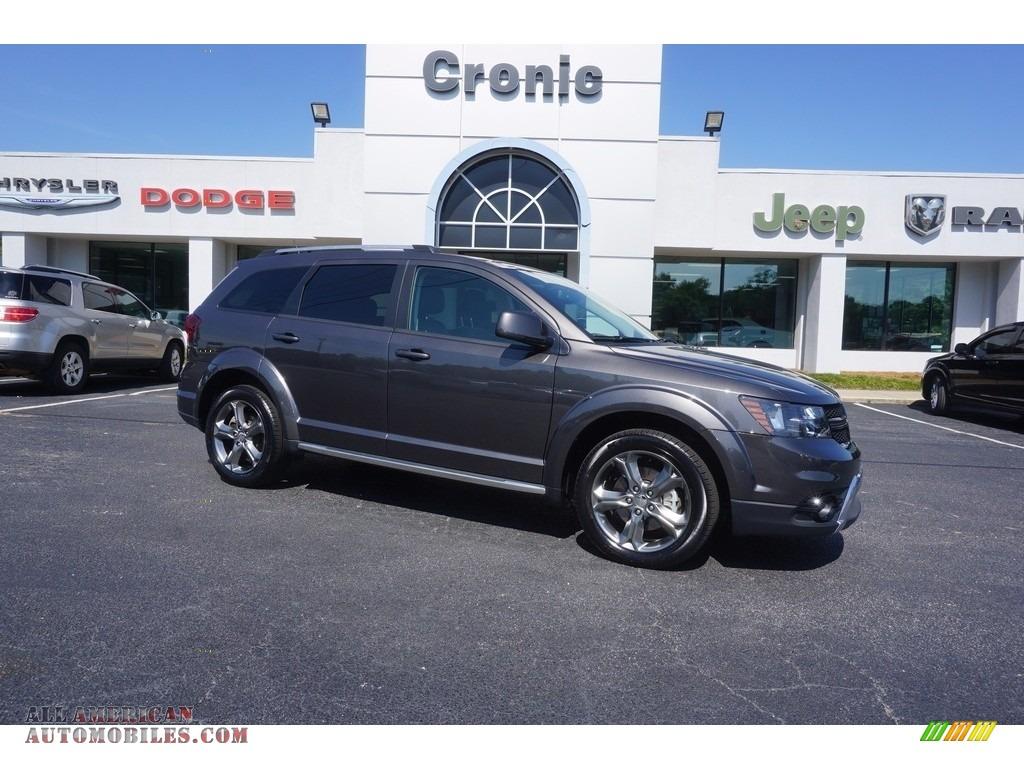 2017 dodge journey crossroad plus in granite pearl coat 522956 all american automobiles. Black Bedroom Furniture Sets. Home Design Ideas