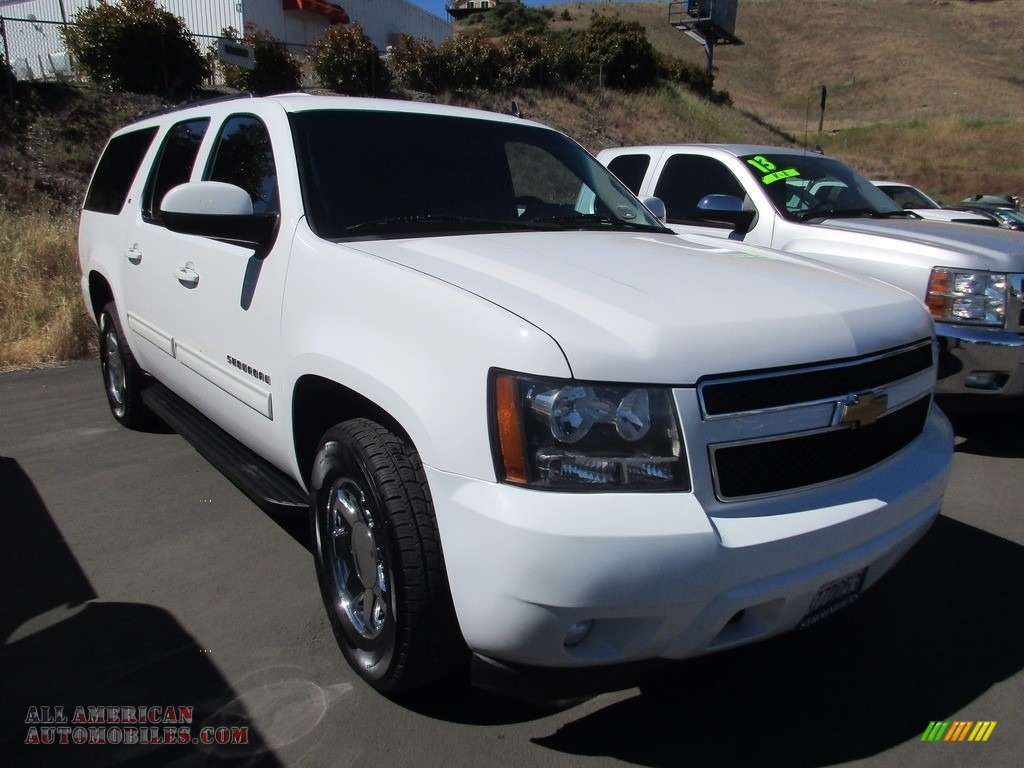 2012 chevrolet suburban lt in summit white 318782 all american automobiles buy american. Black Bedroom Furniture Sets. Home Design Ideas