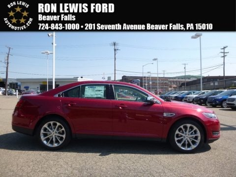 Ruby Red 2017 Ford Taurus Limited AWD
