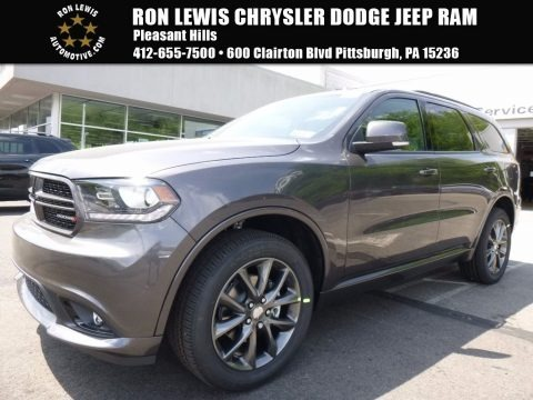 Granite Metallic 2017 Dodge Durango GT AWD