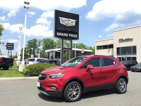 Winterberry Red Metallic 2017 Buick Encore Sport Touring