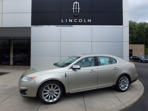 Gold Leaf Metallic 2011 Lincoln MKS EcoBoost AWD