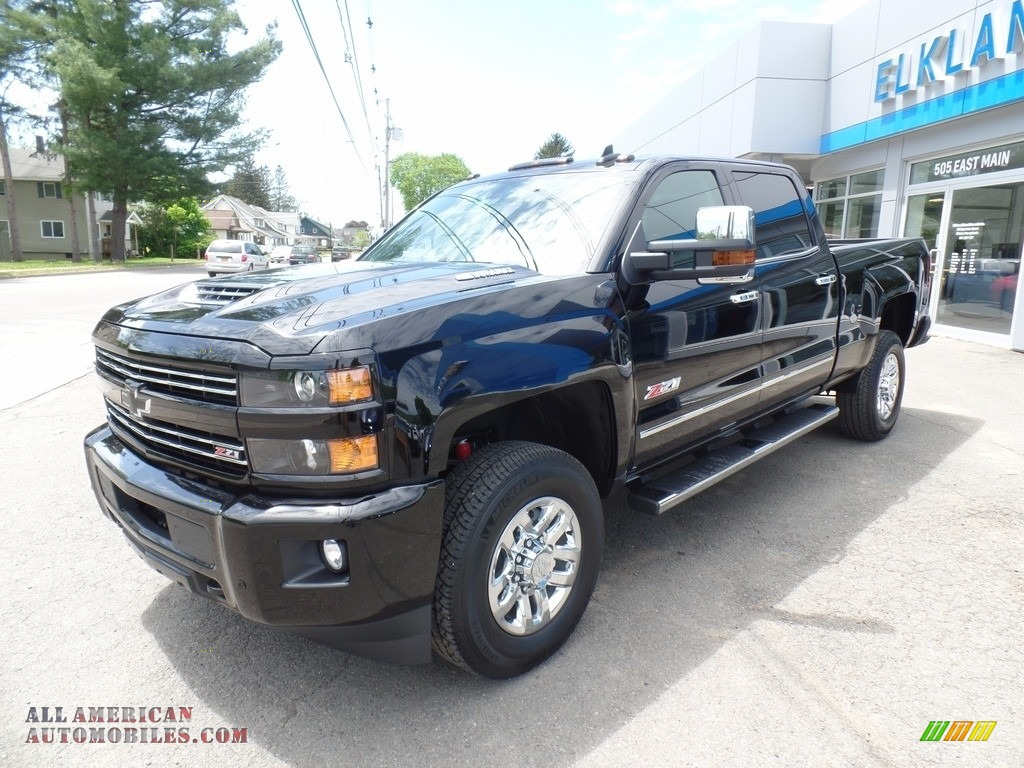 2017 chevrolet silverado 3500hd ltz crew cab 4x4 in black 197372 all american automobiles. Black Bedroom Furniture Sets. Home Design Ideas