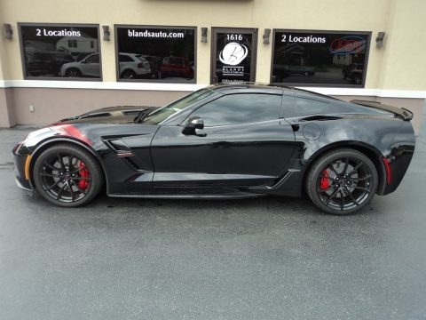 Black 2017 Chevrolet Corvette Grand Sport Coupe