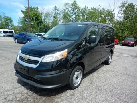 Black Pipe 2017 Chevrolet City Express LT