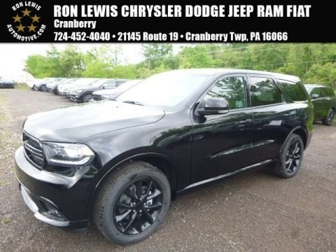 DB Black Crystal 2017 Dodge Durango GT AWD
