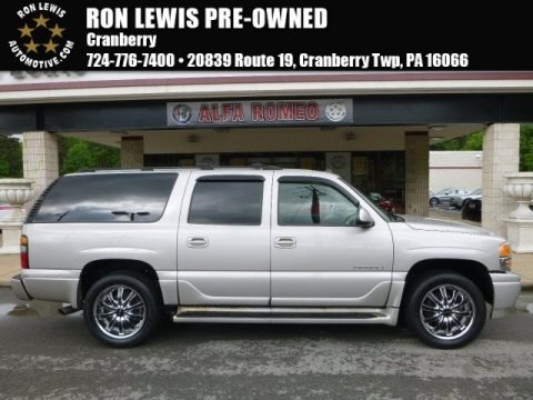 Silver Birch Metallic 2005 GMC Yukon XL Denali AWD