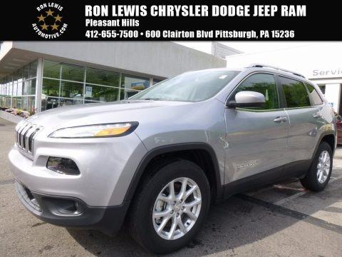 Billet Silver Metallic 2017 Jeep Cherokee Latitude 4x4