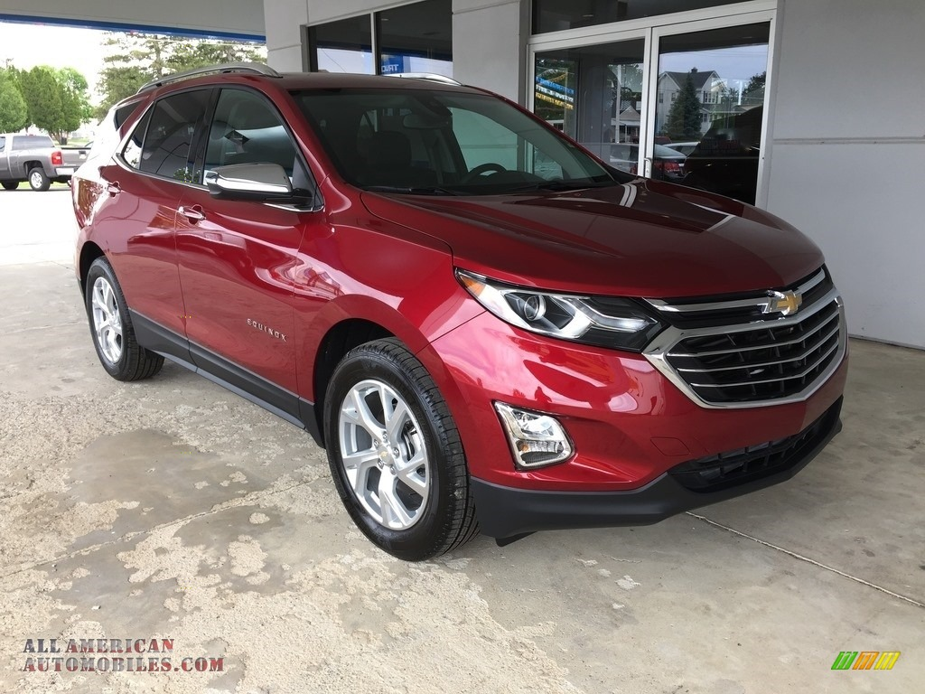 2018 chevrolet equinox premier in cajun red tintcoat 134852 all american automobiles buy. Black Bedroom Furniture Sets. Home Design Ideas