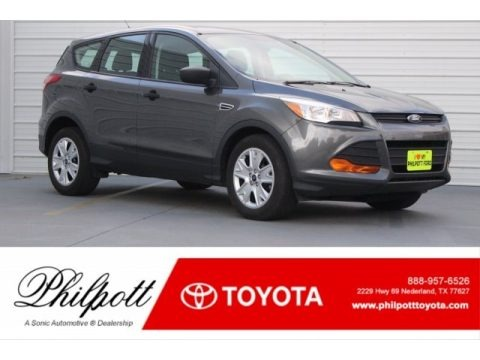 Magnetic Metallic 2015 Ford Escape S