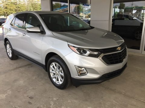 Silver Ice Metallic 2018 Chevrolet Equinox LT
