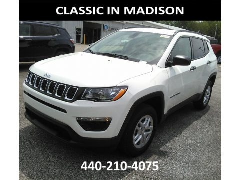 Bright White 2017 Jeep Compass Sport 4x4