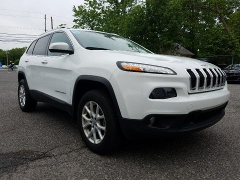 Bright White 2014 Jeep Cherokee Latitude 4x4