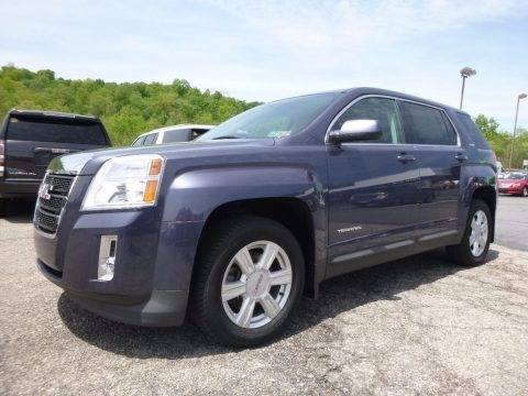 Atlantis Blue Metallic 2014 GMC Terrain SLE