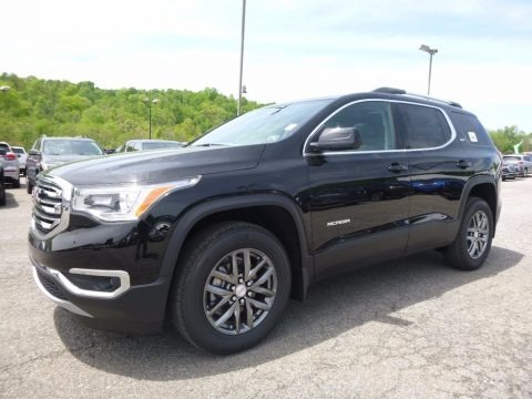 Ebony Twilight Metallic 2017 GMC Acadia SLT AWD