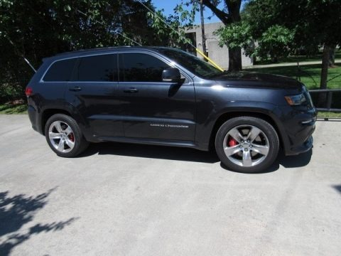 Brilliant Black Crystal Pearl 2014 Jeep Grand Cherokee SRT 4x4