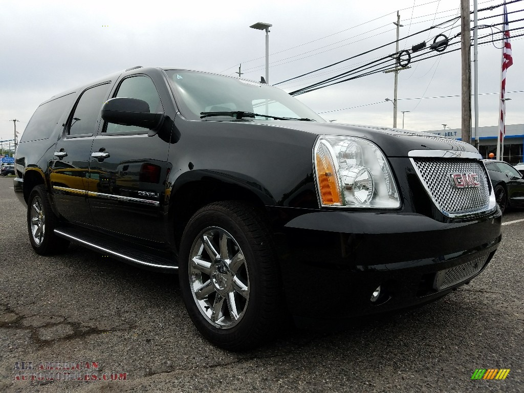 2014 gmc yukon xl denali awd in onyx black 107987 all american automobiles buy american. Black Bedroom Furniture Sets. Home Design Ideas