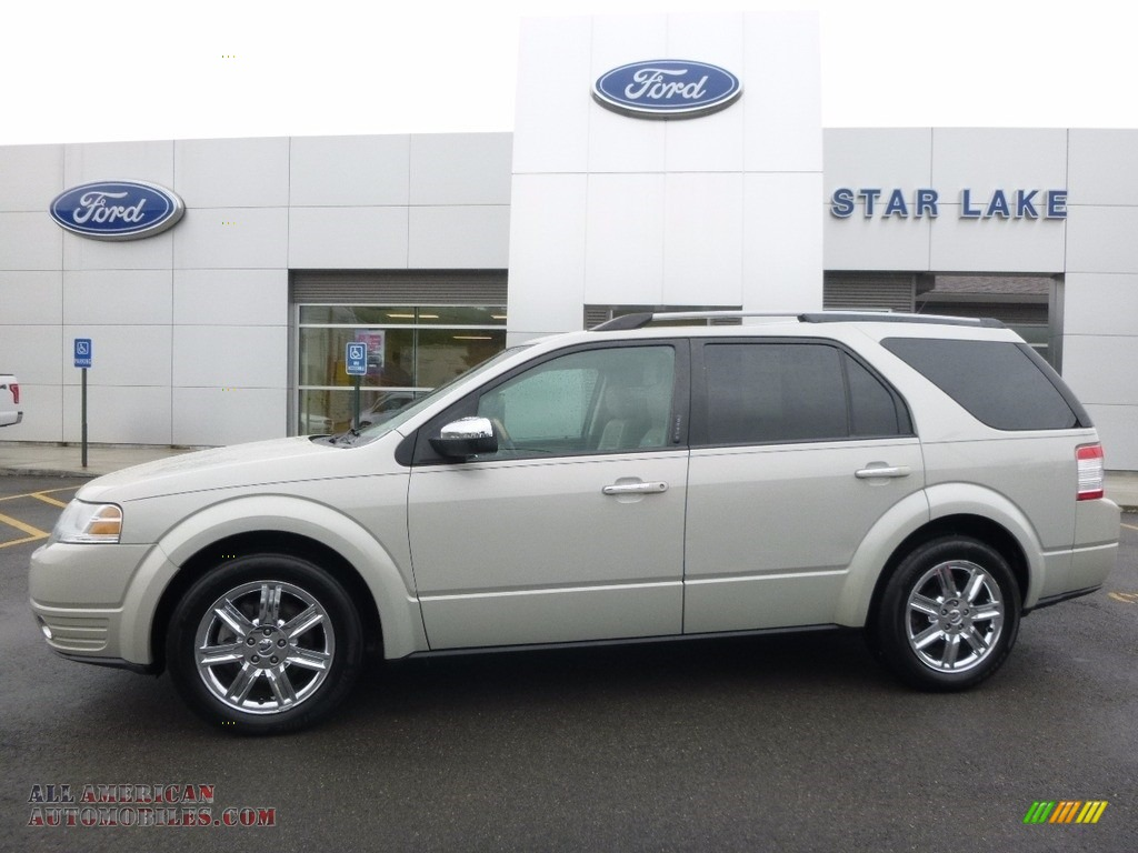 2008 ford taurus x limited awd in light sage metallic a25943 all american automobiles buy. Black Bedroom Furniture Sets. Home Design Ideas