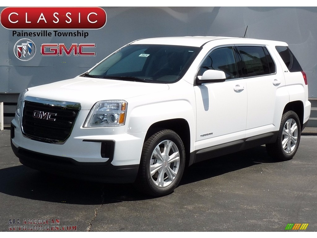 2017 gmc terrain sle in summit white 337297 all american automobiles buy american cars for. Black Bedroom Furniture Sets. Home Design Ideas