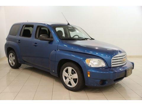 Aqua Blue Metallic 2009 Chevrolet HHR LS