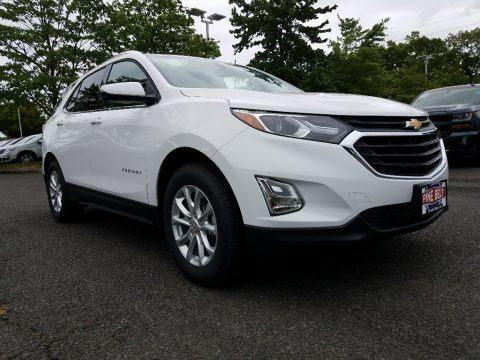 Summit White 2018 Chevrolet Equinox LT
