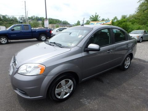 Medium Gray 2011 Chevrolet Aveo LT Sedan
