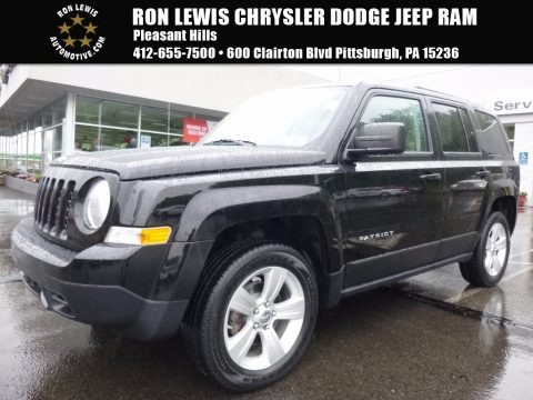 Black 2012 Jeep Patriot Latitude 4x4
