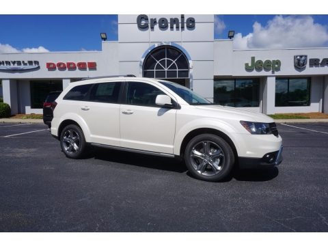 White Noise Tri-Coat 2017 Dodge Journey Crossroad Plus