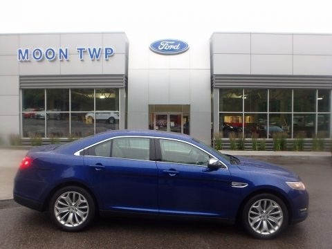 Deep Impact Blue Metallic 2015 Ford Taurus Limited