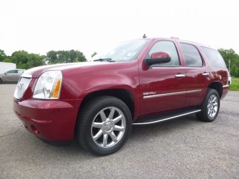 Red Jewel Tintcoat 2010 GMC Yukon Denali AWD