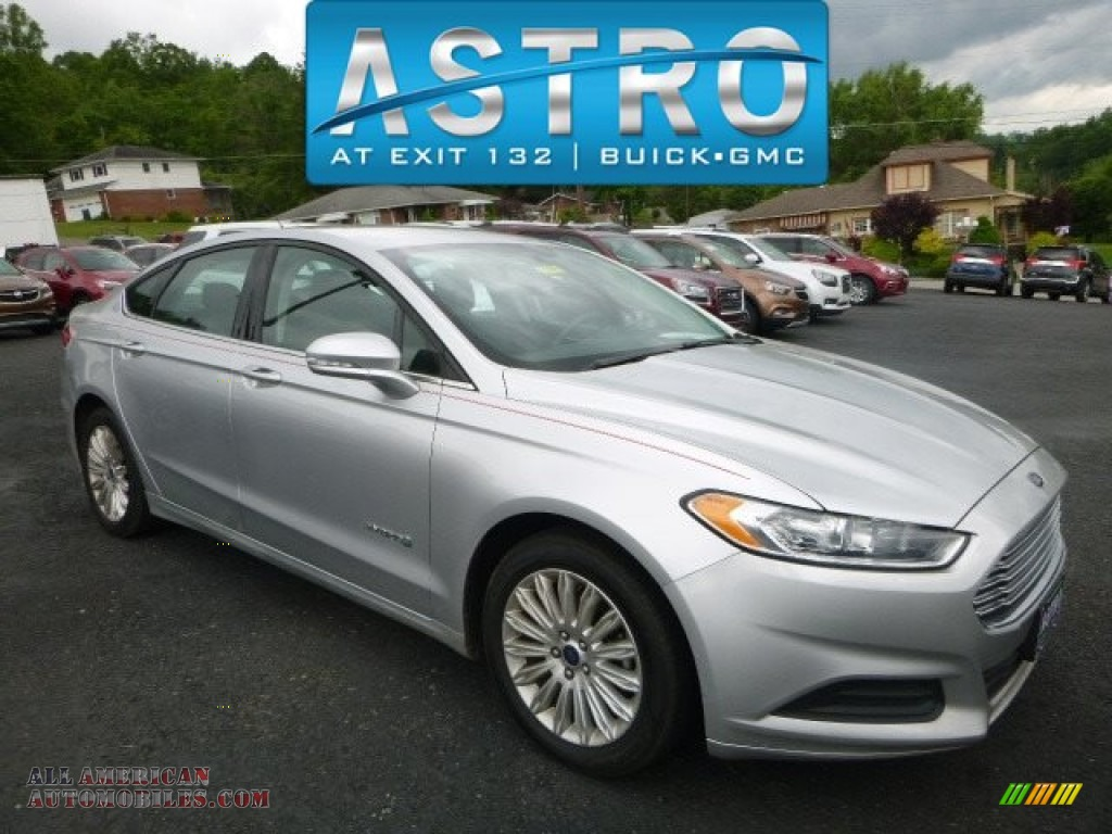 2014 ford fusion hybrid se in ingot silver 187902 all american automobiles buy american. Black Bedroom Furniture Sets. Home Design Ideas