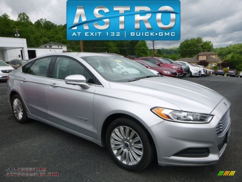 2014 ford fusion hybrid se in ingot silver 187906 all american automobiles buy american. Black Bedroom Furniture Sets. Home Design Ideas