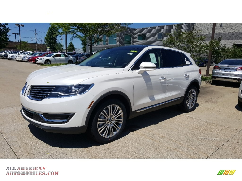2017 lincoln mkx reserve awd in white platinum l35259 all american automobiles buy. Black Bedroom Furniture Sets. Home Design Ideas