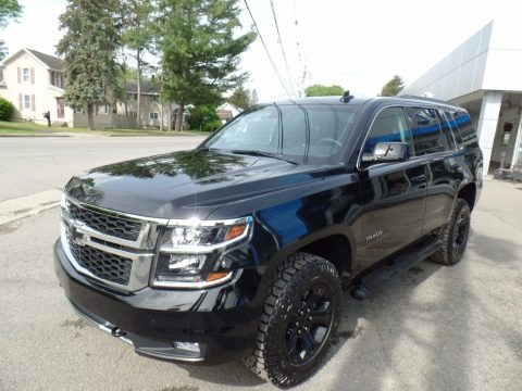 Black 2017 Chevrolet Tahoe LT 4WD