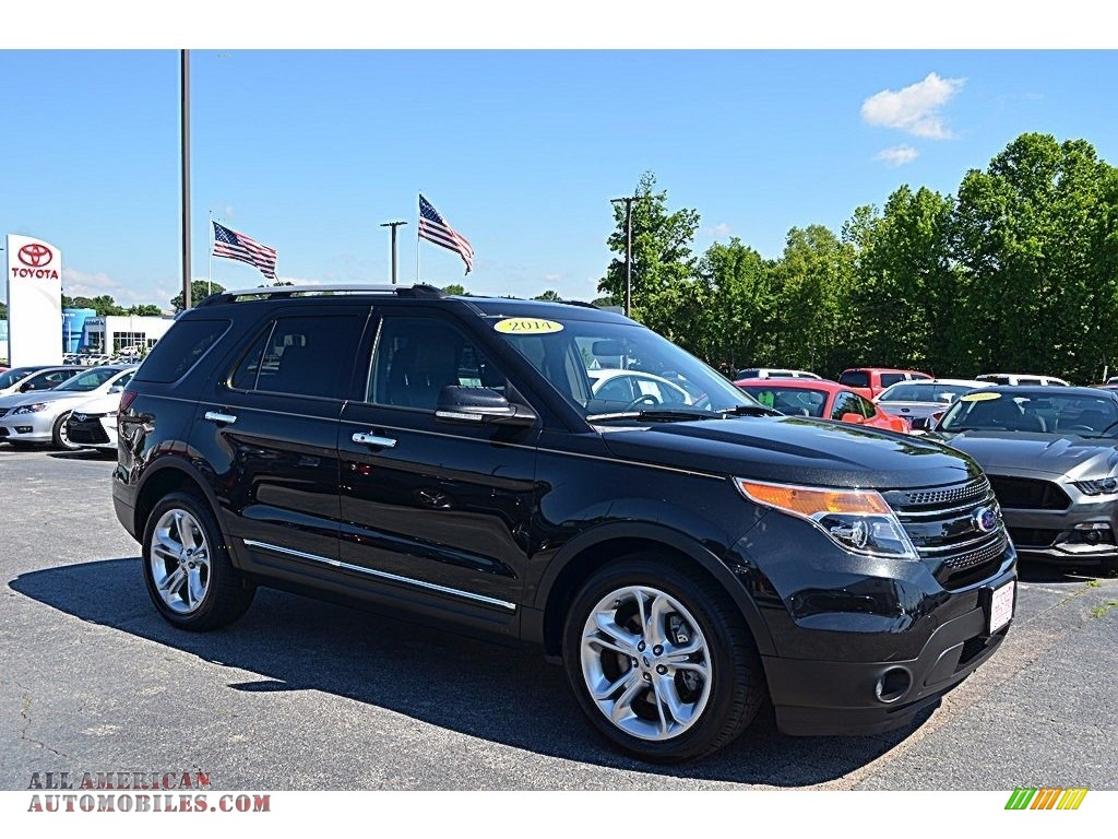 2014 ford explorer limited in dark side b56957 all american automobiles buy american cars. Black Bedroom Furniture Sets. Home Design Ideas