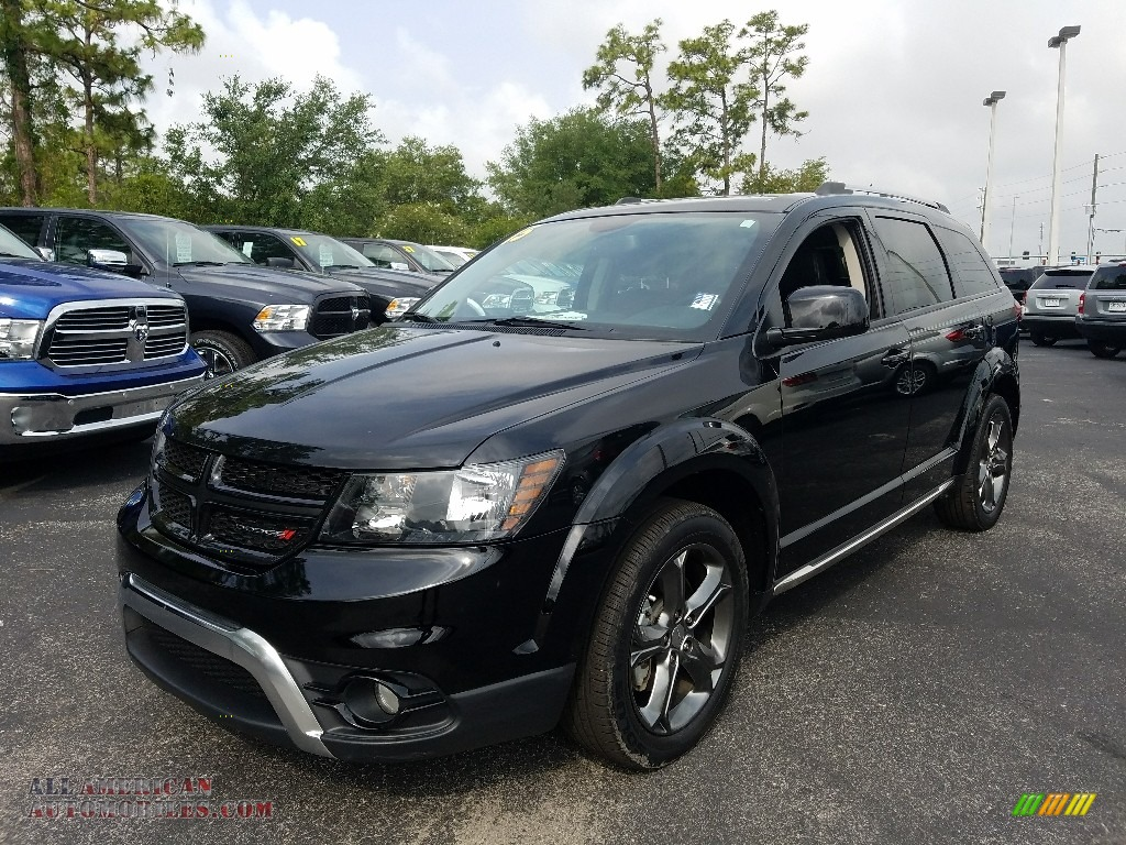 2015 dodge journey crossroad in pitch black 697941 all for Steve white motors inc