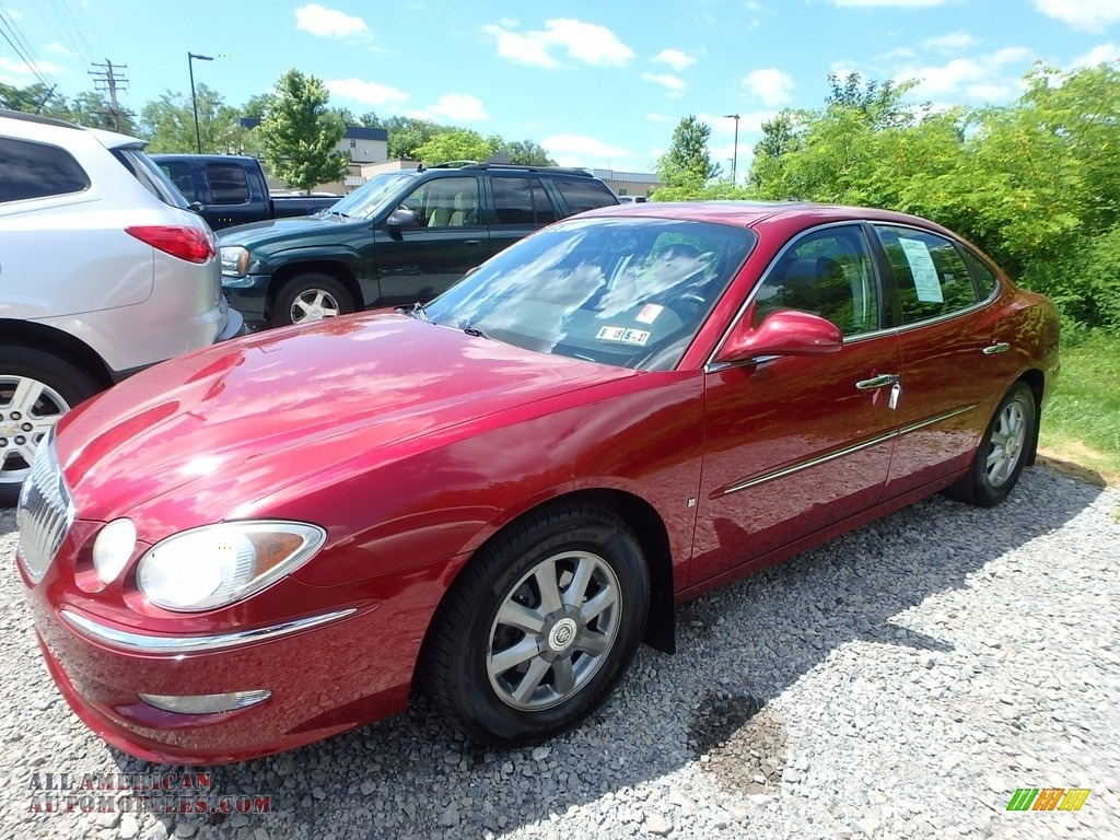 2008 buick lacrosse cxl in red jewel tintcoat 152654 all american automobiles buy american. Black Bedroom Furniture Sets. Home Design Ideas