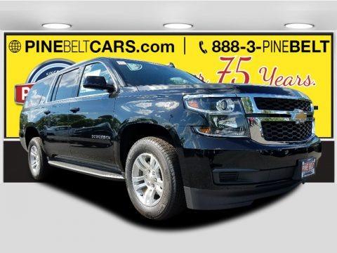 Black 2017 Chevrolet Suburban LT 4WD