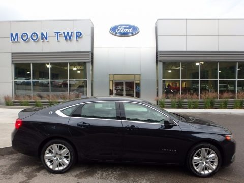 Black 2014 Chevrolet Impala LS