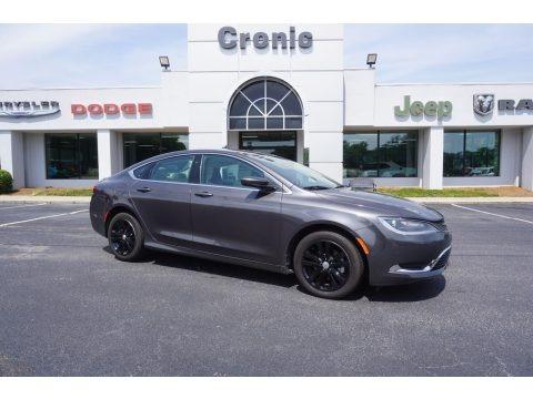 Granite Crystal Metallic 2016 Chrysler 200 Limited