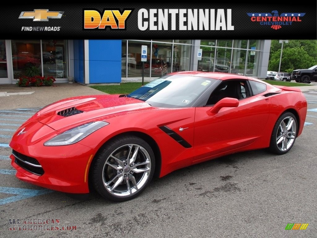 2017 chevrolet corvette stingray coupe in torch red 123578 all american automobiles buy. Black Bedroom Furniture Sets. Home Design Ideas