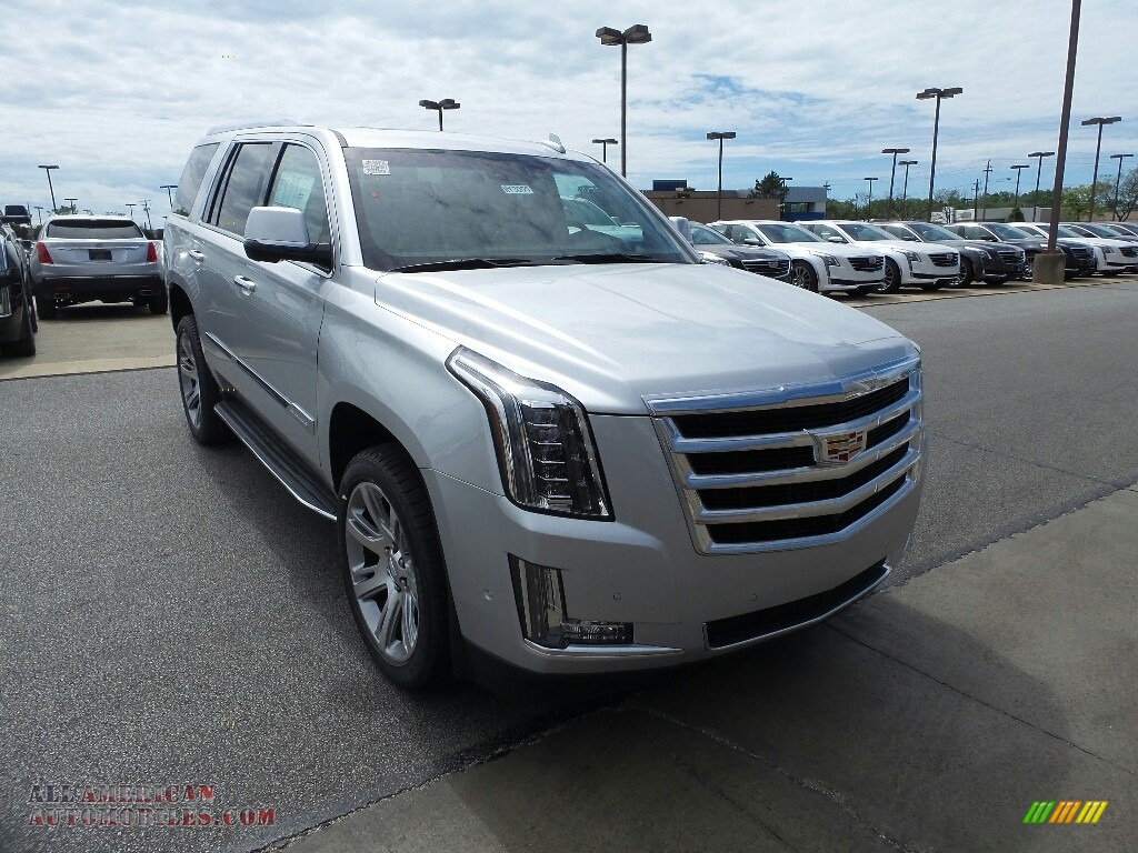 2017 cadillac escalade luxury 4wd in radiant silver metallic 317160 all american automobiles. Black Bedroom Furniture Sets. Home Design Ideas