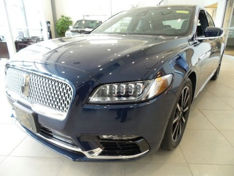 Midnight Sapphire Blue 2017 Lincoln Continental Reserve AWD