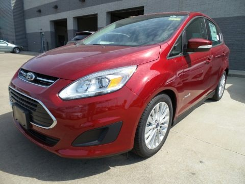 Ruby Red 2017 Ford C-Max Hybrid SE