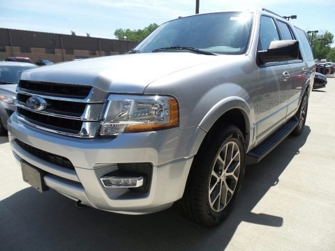 Ingot Silver 2017 Ford Expedition XLT 4x4