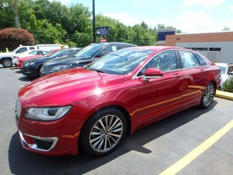 Ruby Red 2017 Lincoln MKZ Select