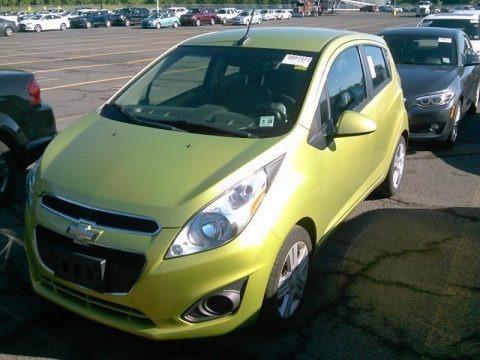 Jalapeno (Green) 2013 Chevrolet Spark LT