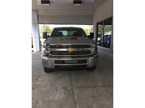Silver Ice Metallic 2017 Chevrolet Silverado 3500HD Work Truck Crew Cab 4x4