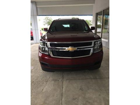 Siren Red Tintcoat 2017 Chevrolet Suburban LS 4WD