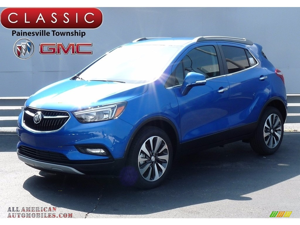 2017 buick encore preferred ii in coastal blue metallic 192696 all american automobiles. Black Bedroom Furniture Sets. Home Design Ideas